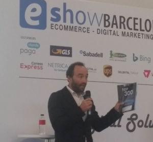 presentación en eshow de los datos sobre comercio electrónico en España