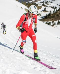 temporada satisfactoria de Julbo con la selección española de esquí de montaña