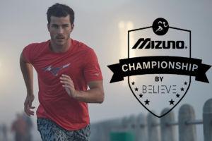 Mizuno impulsa una liga virtual de running junto a la app Believe