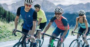 Odlo desarrolla prendas con Ceramicool para la práctica del ciclismo en verano