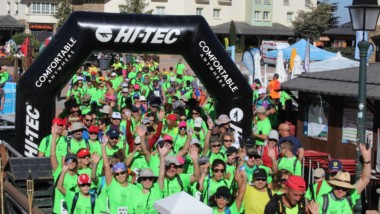 Hi-Tec respalda la ruta senderista Pico Veleta Techo de Dílar