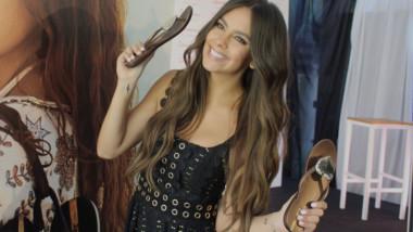 «Soy muy feliz calzando Ipanema»