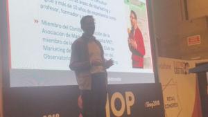 Fernando Rivero interviene en Retail Congress, de Shop, hablando sobre tendencias en comercio electrónico
