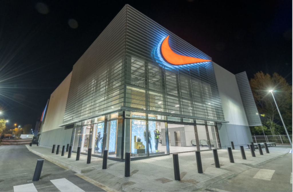 Nike Factory Store en La Roca del Vallès, tiendas de deporte y moda deportiva
