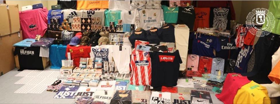falsificaciones productos deportivos y equipaciones fútbol