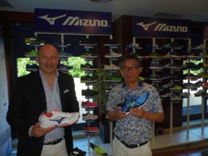 entrevista a Oliver Strenghetto, presidente de Mizuno Italia