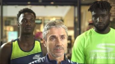 Skechers prepara un nuevo reto junto a Martín Fiz