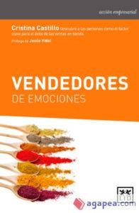 libro Vendedores de Emociones de LId Ediitorial a cargo de Cristina Castillo