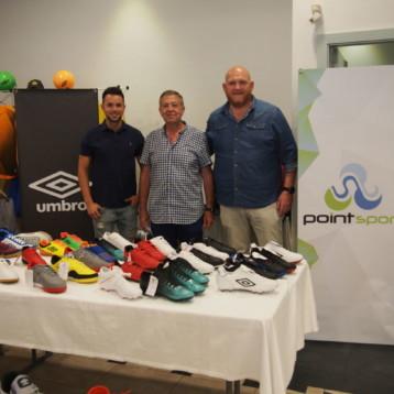 Una treintena de proveedores participan en las jornadas de Point Sport