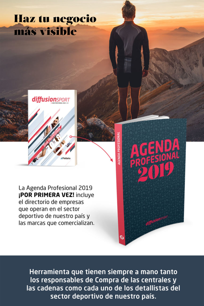 Agenda Profesional 2019 de Diffusion Sport