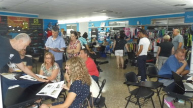 Atmósfera Sport concentra sus jornadas de compra