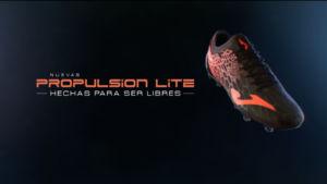 Joma lleva a cabo una campaña de marketing en torno a Propulsion Lite, bota de fútbol
