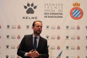 Kelme presenta las equipaciones del RCD Espanyol de Barcelona en el Palau de la Música