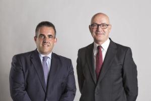 presidente y consejero delegado de El Corte Inglés, Jesús Nuño de la Rosa y Víctor del Pozo