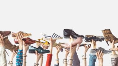 El calzado: entre el cielo y el suelo