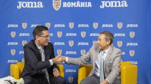 Joma recibe a la Federación de Fútbol de Rumanía