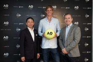 Dunlop bola oficial del Australia Open