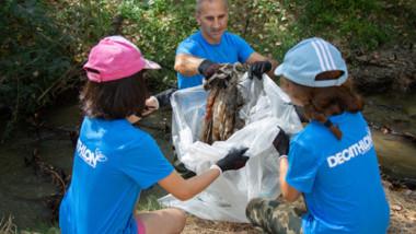 Decathlon recoge 32 toneladas de residuos