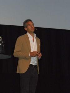 Markus Rech, CEO de Sportscheck, interviene en la European Outdoor Summit de Malmöe