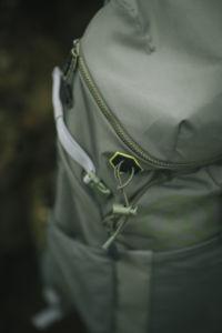 mochilas de Ternua fabricadas con tejidos sostenibles
