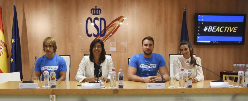 presentación de la Semana Europea del Deporte a cargo del CSD