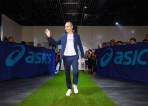 Iniesta se convierte en patrocinador de Asics