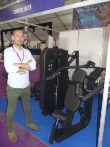 Salter firma con su oferta de maquinaria de fitness en la feria de Casablanca