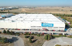 Nuevo centro logístico de Decathlon en Getafe