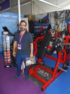 F&H Fitness participa en la feria de deporte de Casablanca en Marruecos