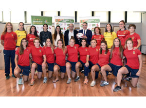 Joma presenta la equipación de la selección española femenina de rugby 7