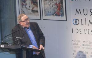 Juan Manuel Surroca presenta un libro sobre los Juegos Olímpicos de 1968