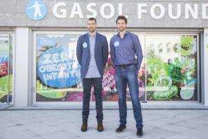 La Gasol Foundation, con los hermanos Pau y Marc Gasol al frente, lucha contra la obesidad infantil y promueve los buenos hábitos saludables entre la infancia