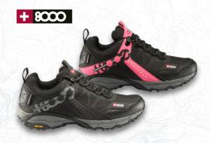 calzado +8000 para outdoor y trail running