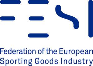 logo de la federación europea de la industria del deporte, Fesi