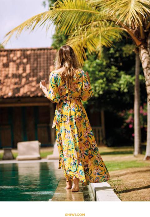 prendas de baño y moda de la firma holandesa Shiwi