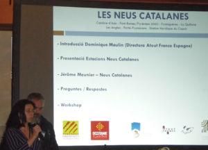 presentación de cifras de esquí de las estaciones catalanas en Francia