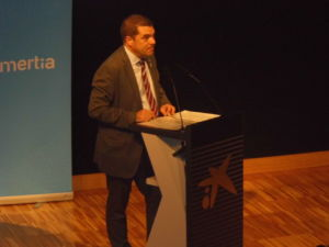 Joaquim Ferrer interviene en la jornada Retail de Comertia
