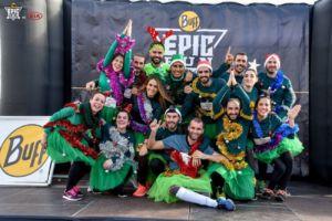 Buff Epic Run carrera de obstáculos