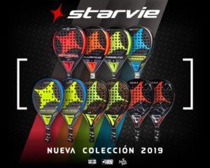 nueva colección de palas de Starvie