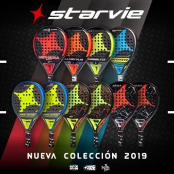 Starvie afronta la temporada con diez nuevos modelos de palas