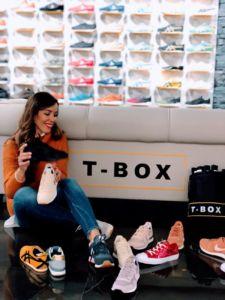 inauguración de la tienda T-Box en Zaragoza