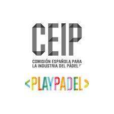 logotipo de la comisión española de la industria del pádel