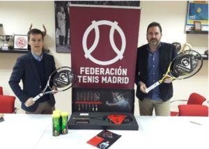 acuerdo entre Dunlop y la Federación Madrileña de Tenis