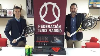 Dunlop se convierte en raqueta oficial de la Madrileña de Tenis