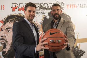 Pau y Marc Gasol colaboran con el deporte base y con la Gasol Foundation en la promoción del baloncesto junto a Nike