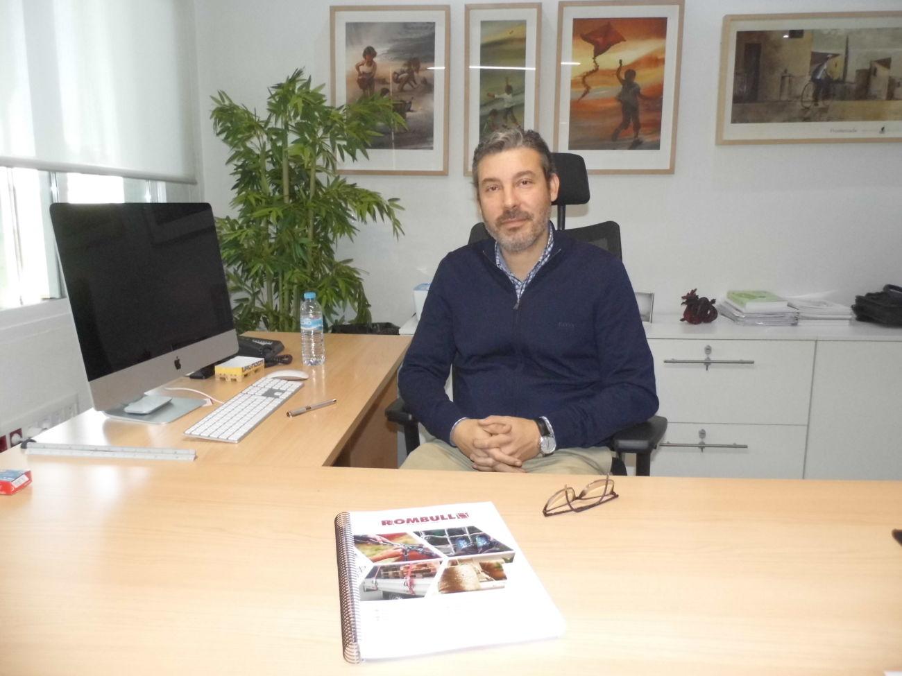 Vicente Pajares, gerente de Rombull