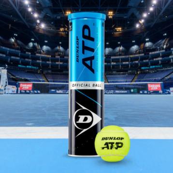 Dunlop se convierte en silver partner y pelota oficial del ATP Tour