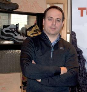 Aingeru Gabiña, director comercial de Forum Sport