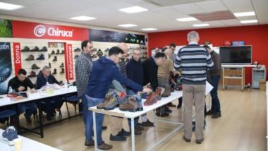 Chiruca reúne a su red comercial en su sede de Arnedo para presentar su colección de invierno