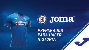 Joma gana presencia en México al equipar al Cruz Azul